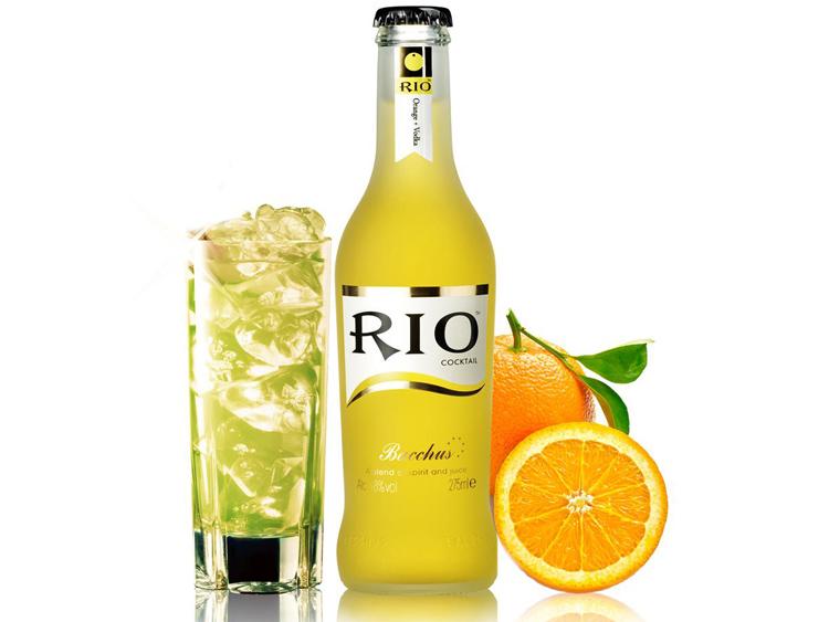 锐澳rio鸡尾酒 橙味伏特加鸡尾酒 275ml瓶装 预调酒锐奥果酒 正品图片