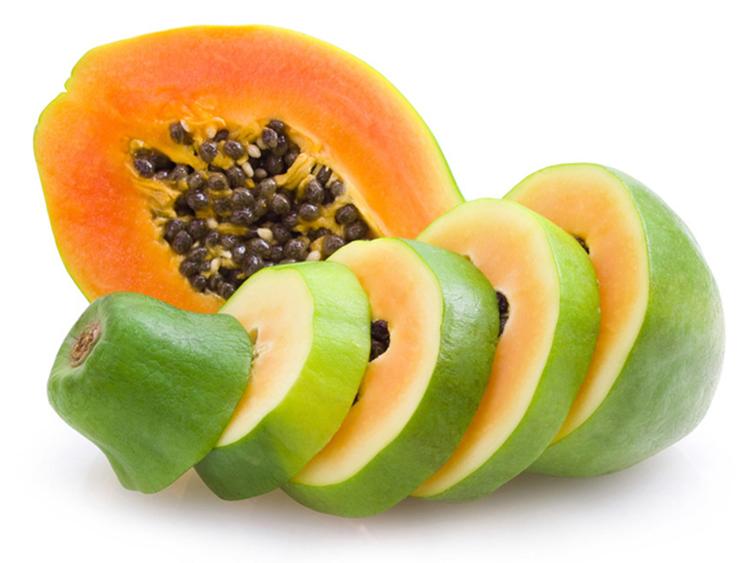海南树上熟木瓜  红土地富晒熟木瓜